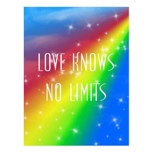 De Liefde Kent Geen Grenzen Briefkaart