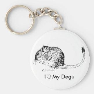 De Liefde Keychain van Degu Sleutelhanger