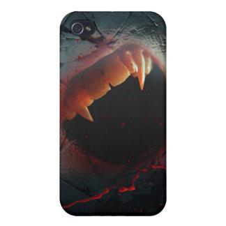 De liefde kwetst, de Bloedige Beet van de Vampier iPhone 4/4S Hoesjes
