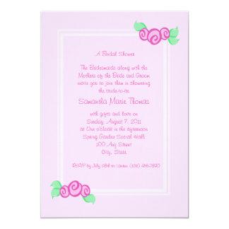 De liefde ontluikt Roze Kaart