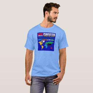 De liefde perfectioneerde Unisex-T-shirt