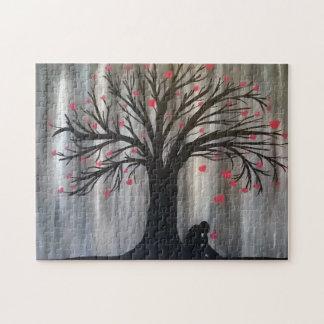 De liefde regeert onderaan Raadsel Puzzel