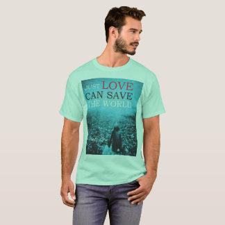 De Liefde t-Shit bewaart de Wereld T Shirt