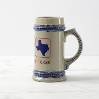 De Liefde Texas van de vrede Bierpul
