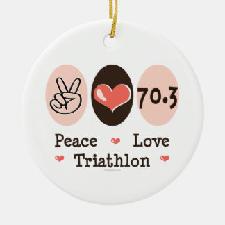 De Liefde Triathlon 70.3 van de vrede Ornament