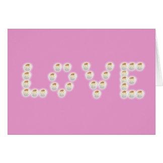 De Liefde van Cupcake Kaart