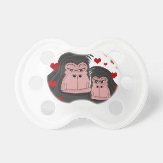 De liefde van de aap spenen