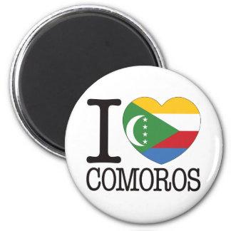 De Liefde van de Comoren v2 Magneet