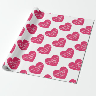 De Liefde van de familie Caregivers Do It With Inpakpapier