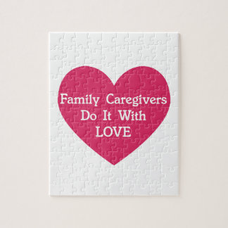 De Liefde van de familie Caregivers Do It With Puzzel