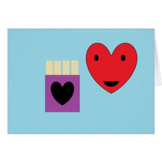De Liefde van de friet Kaart