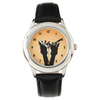 De Liefde van de giraf Horloges