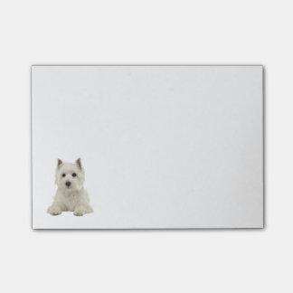 De Liefde van de Hond van het Puppy van Terrier Post-it® Notes