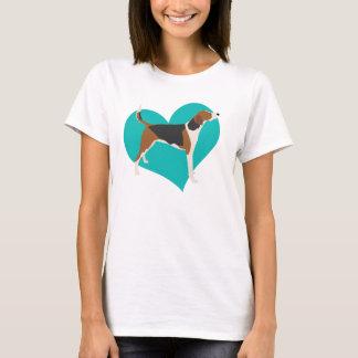 De Liefde van de jachthond T Shirt