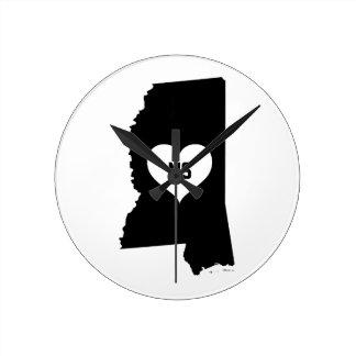 De Liefde van de Mississippi Ronde Klok