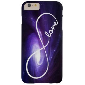 De Liefde van de oneindigheid met Paarse Nevel Barely There iPhone 6 Plus Hoesje