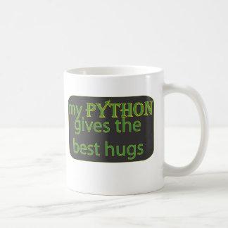 De Liefde van de python Koffiemok