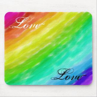 De Liefde van de regenboog Muismatten