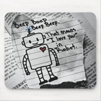 De Liefde van de robot Muismatten