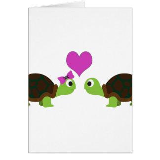 De Liefde van de schildpad Kaart
