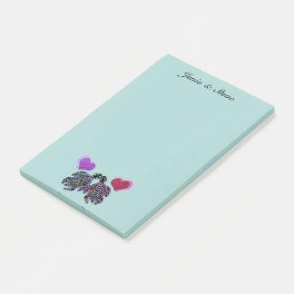 De Liefde van de schildpad Post-it® Notes