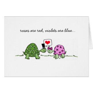 De Liefde van de schildpad - Valentijn of de Kaart