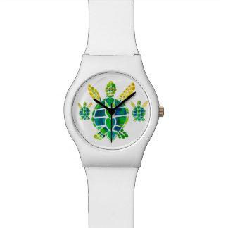 De Liefde van de Schildpad van het zee Polshorloge