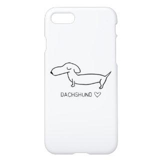 De Liefde van de tekkel iPhone 7 Hoesje