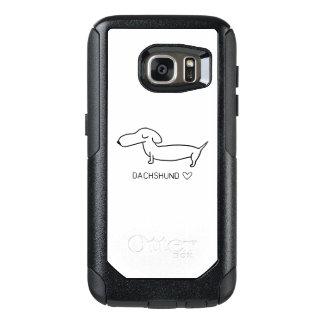 De Liefde van de tekkel OtterBox Samsung Galaxy S7 Hoesje