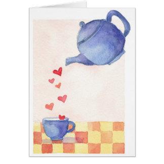 De Liefde van de theepot - de Kaart van de Nota