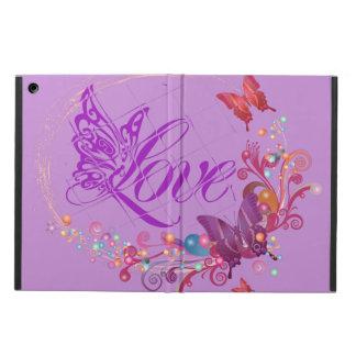 De liefde van de vlinder iPad air hoesje