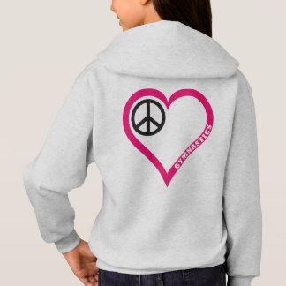 De Liefde van de vrede juicht de overhemden
