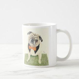 De Liefde van de vriend Pug Koffiemok