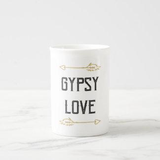 De Liefde van de zigeuner Theekop