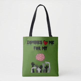 De Liefde van de zombie Draagtas