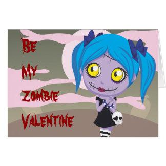 De Liefde van de zombie Kaart