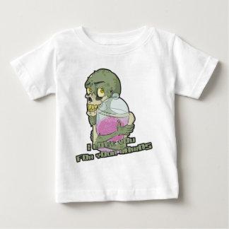 De Liefde van de zombie - met brieven Baby T Shirts
