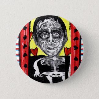 De Liefde van de zombie Ronde Button 5,7 Cm
