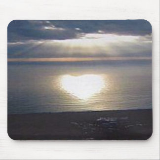 De Liefde van de zonsondergang Muismatten
