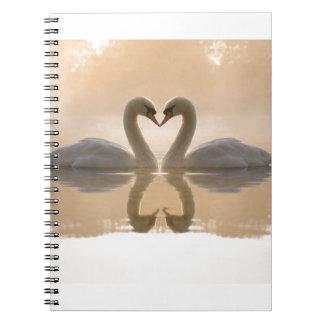 De Liefde van de zwaan Ringband Notitieboek