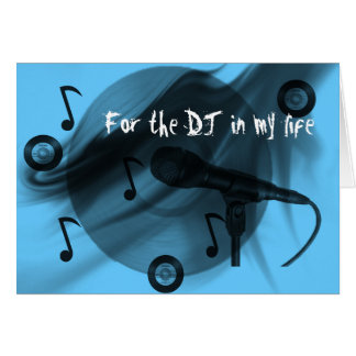 De Liefde van DJ Wenskaart
