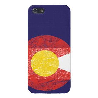 De Liefde van Grunge Denver van de Vlag van de Sta iPhone 5 Hoesjes