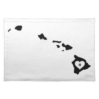 De Liefde van Hawaï Placemat