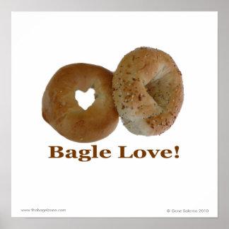 De Liefde van het ongezuurde broodje! Poster