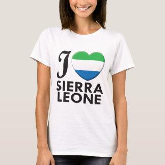 De Liefde van het Sierra Leone T Shirt