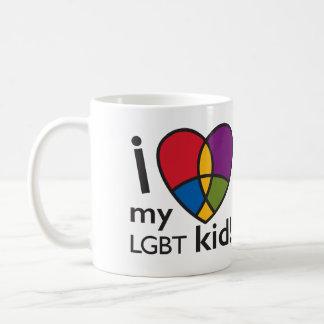 """De """"LIEFDE van I mijn LGBT kind"""" Mok"""