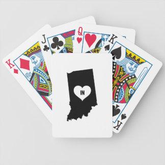 De Liefde van Indiana Poker Kaarten
