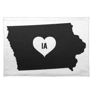 De Liefde van Iowa Placemat