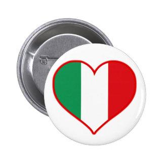 De Liefde van Italië Ronde Button 5,7 Cm