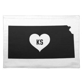 De Liefde van Kansas Placemat